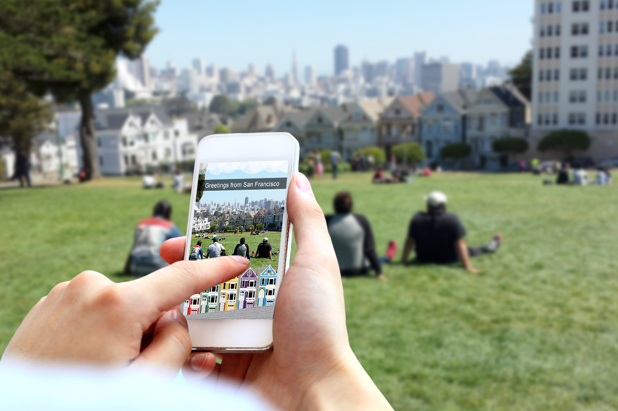 Alamo Square Too Old for Snapchat photo