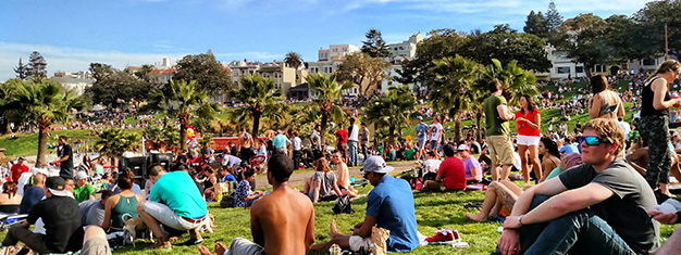 Summe in San Francisco at Dolores Park