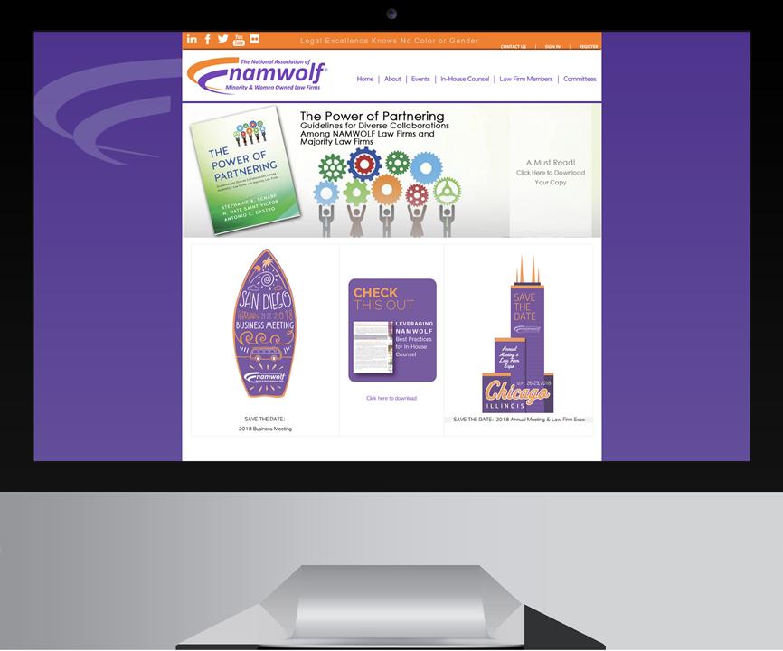 NAMWOLF digital marketing example before