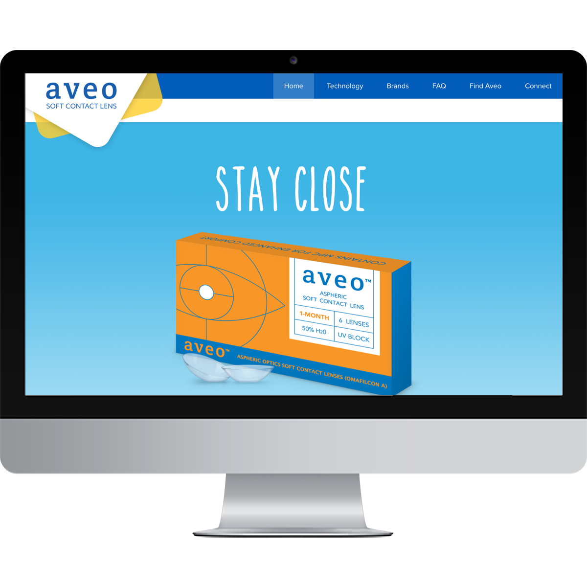 Aveo Visions website before BSTRO