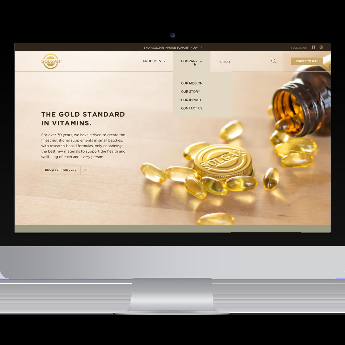 Solgars website after BSTRO