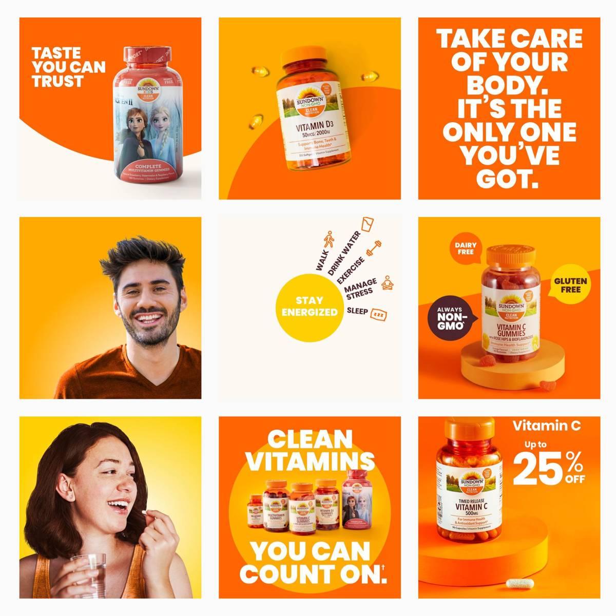 Sundowns Nutritions Instagram grid after BSTRO